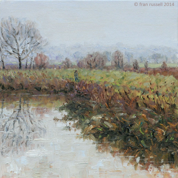 Quiet November morning, The Rother at Newenden
