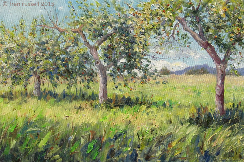 The Old Apple Orchard, September