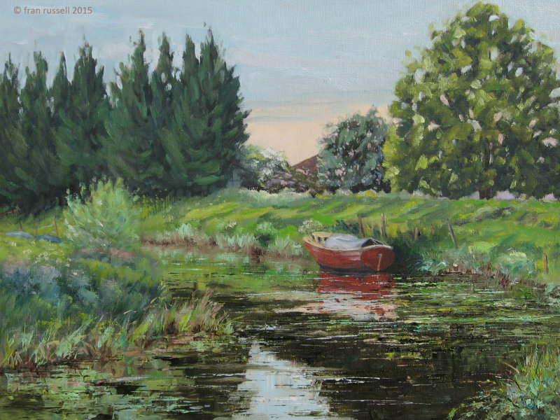 The Red Boat, Newenden