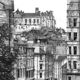 Edinburgh Castle from Bruntsfield