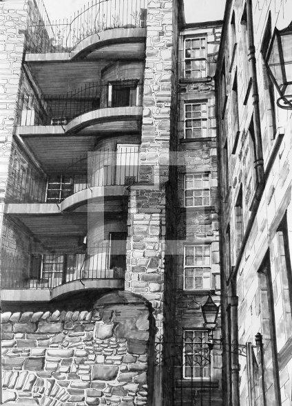 Tweeddale Court, Canongate, Edinburgh