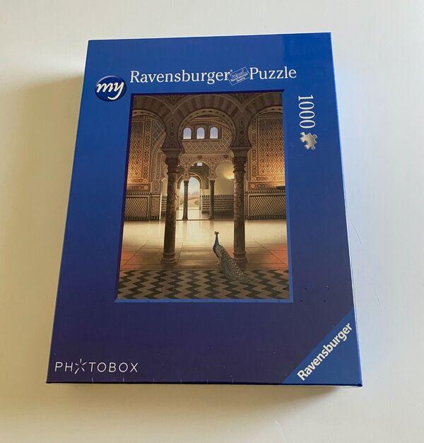 'Alcazar Palace' Jigsaw Puzzle