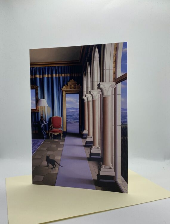 NEW! CARD: 'Out of the Blue'