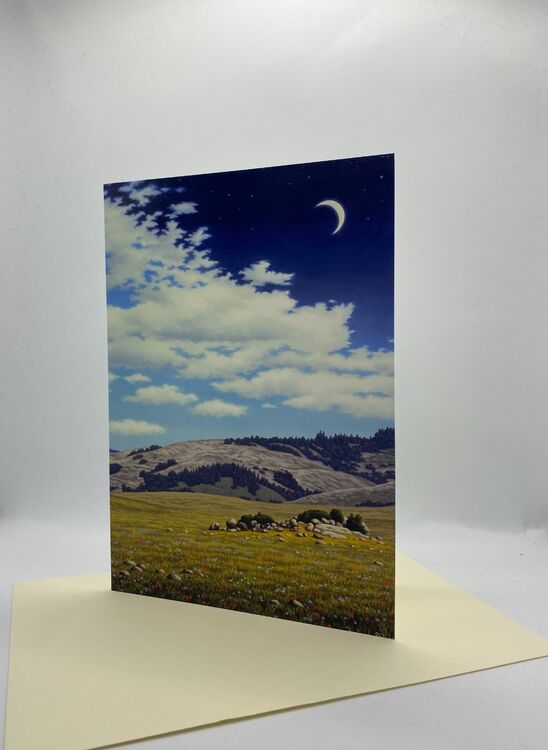 NEW CARD! 'The Sheltering Sky'