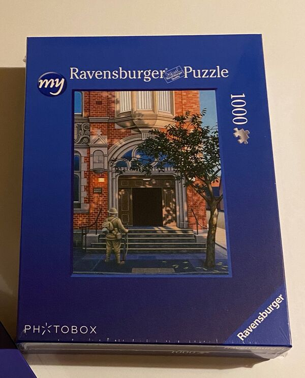 'For The Fallen' Jigsaw Puzzle