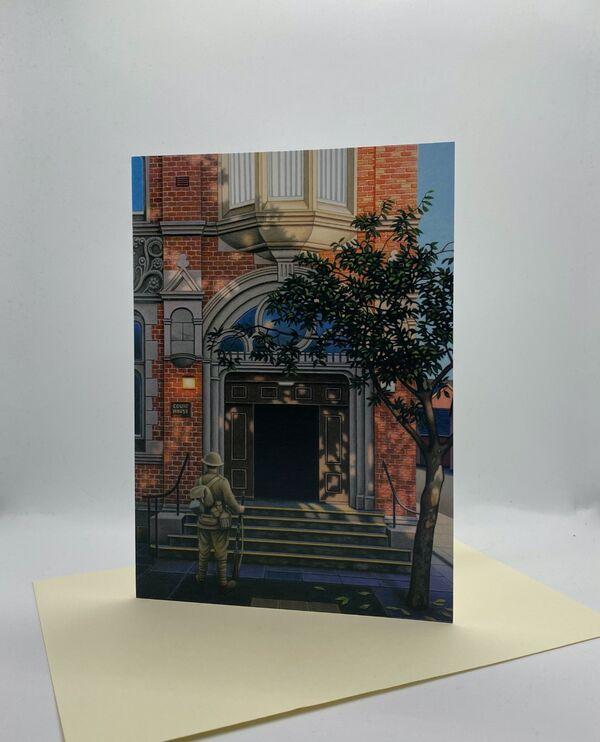 CARD: 'For The Fallen' (Fenton Town Hall)