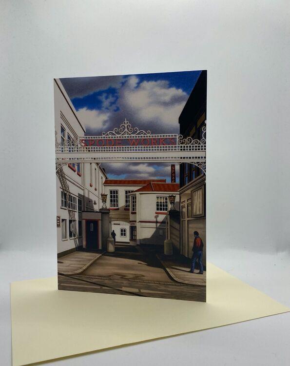 CARD: 'Spode Works, 1988'