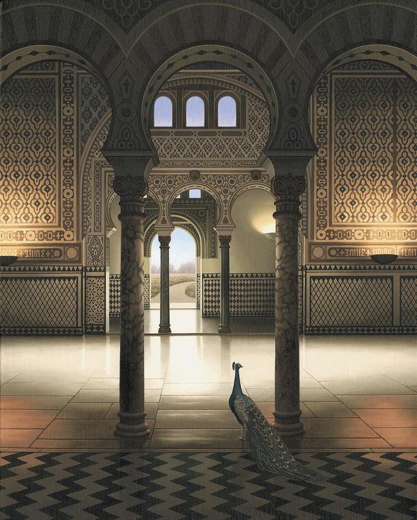 """'Alcazar Palace' (30""""x24"""")"""