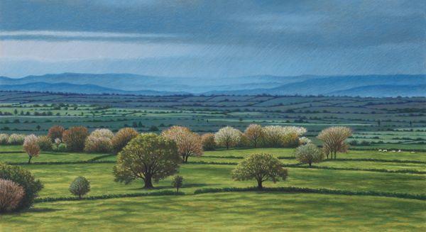 'Approaching Storm' (Glastonbury series)