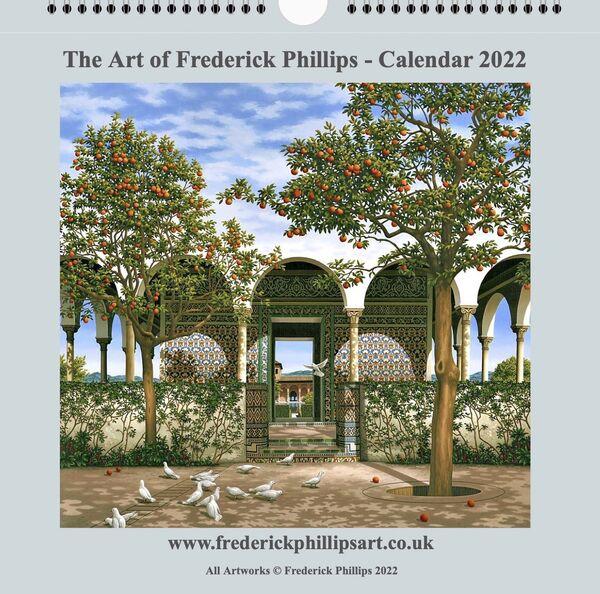 NEW! The Frederick Phillips Art Calendar 2022