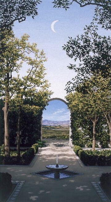 CARD: 'Spanish Garden'