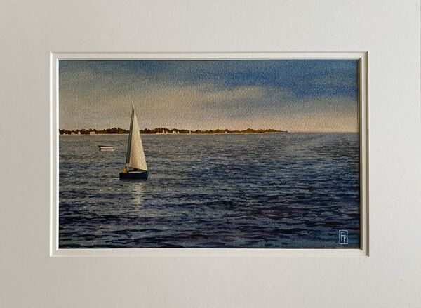 'ADRIATIC AFTERNOON' Original Watercolour Painting