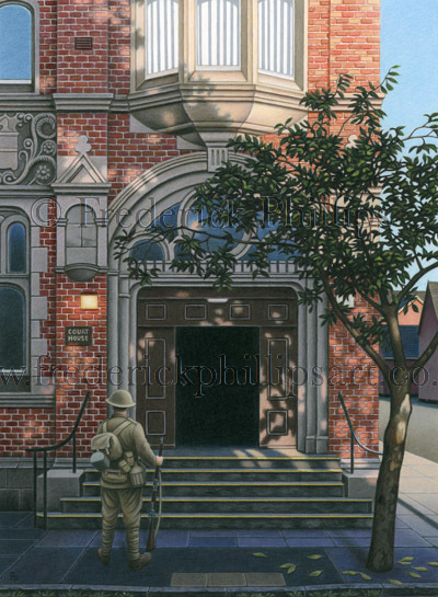 CARD: 'For The Fallen' (Fenton Town Hall)