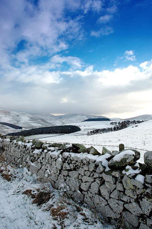 Pennine Way in winter