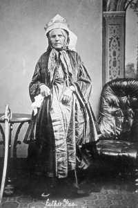 Queen Esther Faa Blythe, possibly taken aroun 1860-1870