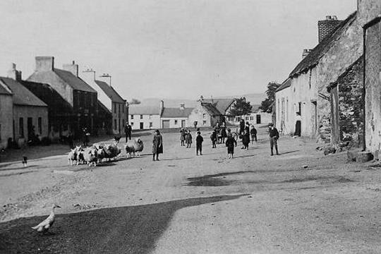 Kirk Yetholm Village