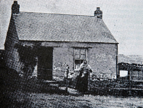 A very early photograph of the Gypsy Palace