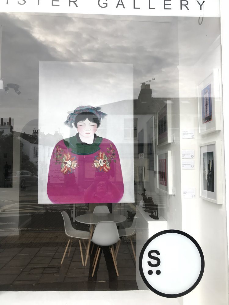 Sister gallery show,Barnes.