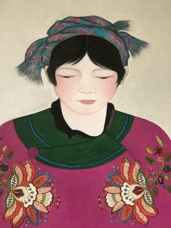 China girl, details.