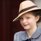 1940s Girl with Hat