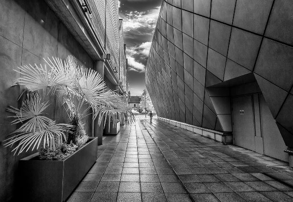 Leaving the Shops, Infrared