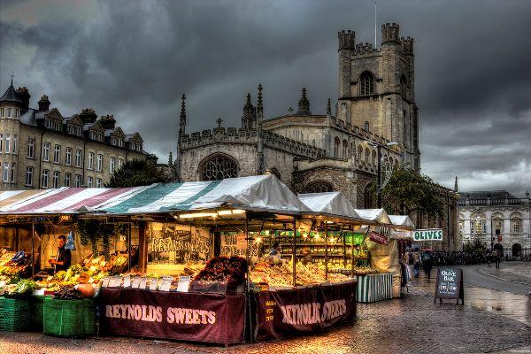 Cambridge in November
