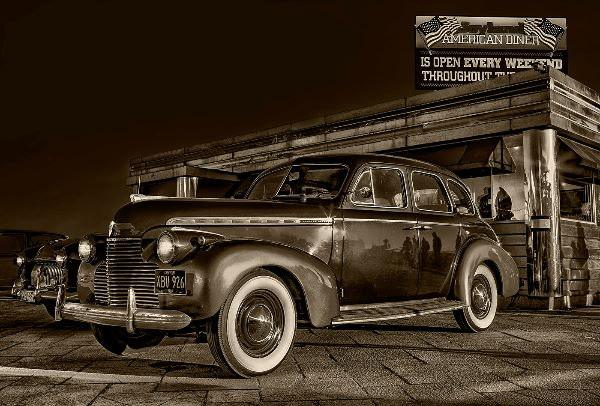 Chevrolet at the Diner
