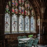 Cafe in the Cloisters