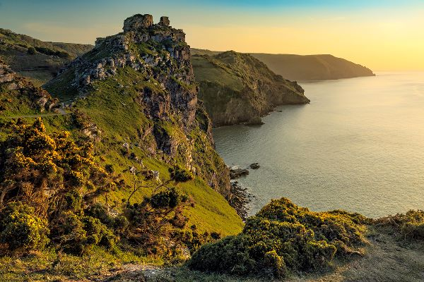 Valley of the Rocks Sunset