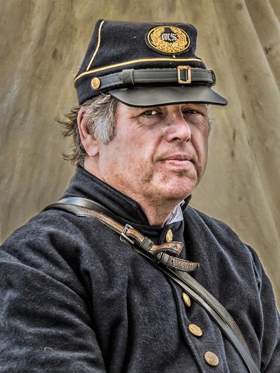 Union Soldier Portrait