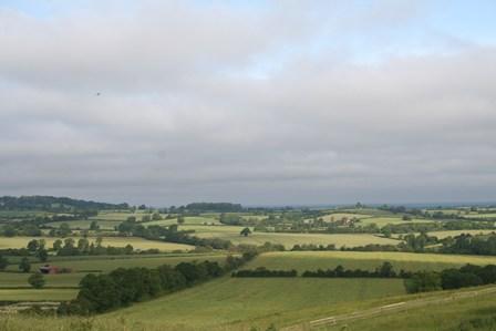 views over Warwickshire