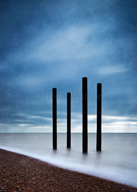 Brighton Pier remains