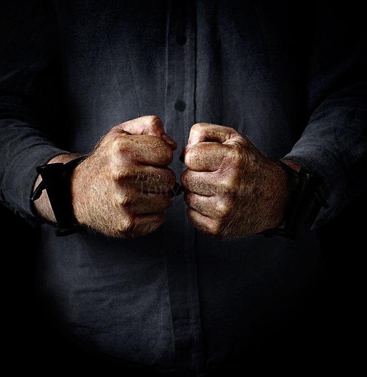 Tense Handcuffs