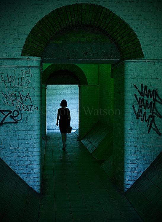 Creepy passage