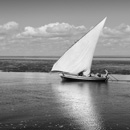 Dhow passing