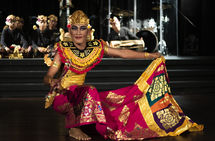 Balinese Performer.