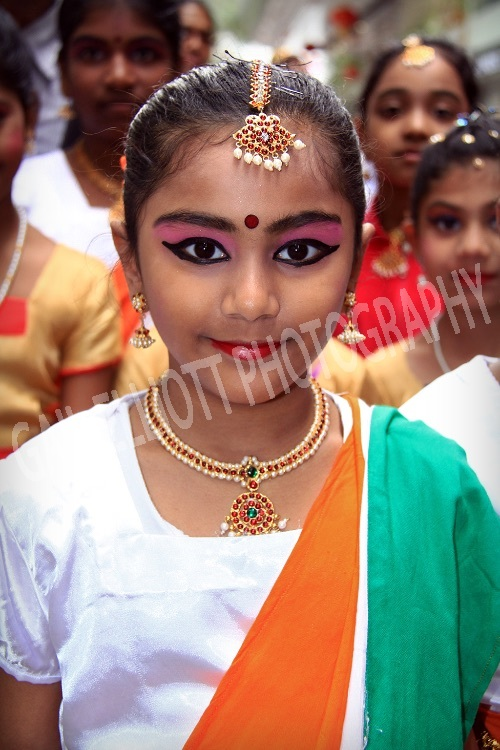 Chinese New Year - Indian Girl 2216