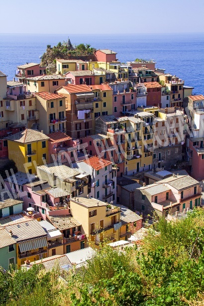 Colourful Houses of the Cinque Terre