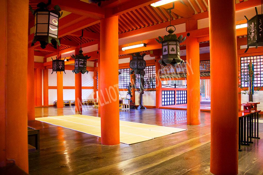The Marodo Shrine, Itsukushima.