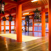 The Marodo Shrine, Itsukushima.