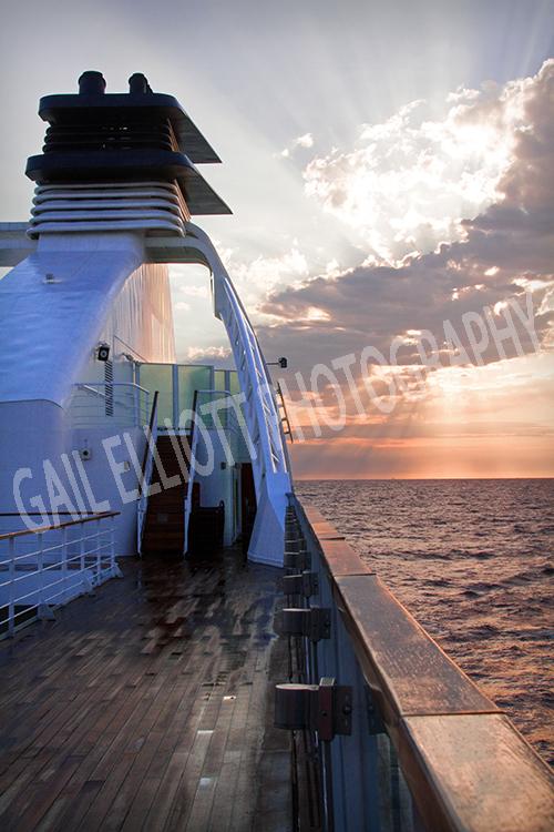 Seabourn Sojourn Sunrise