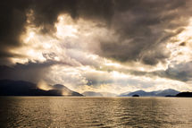 Clouds over Wrangell