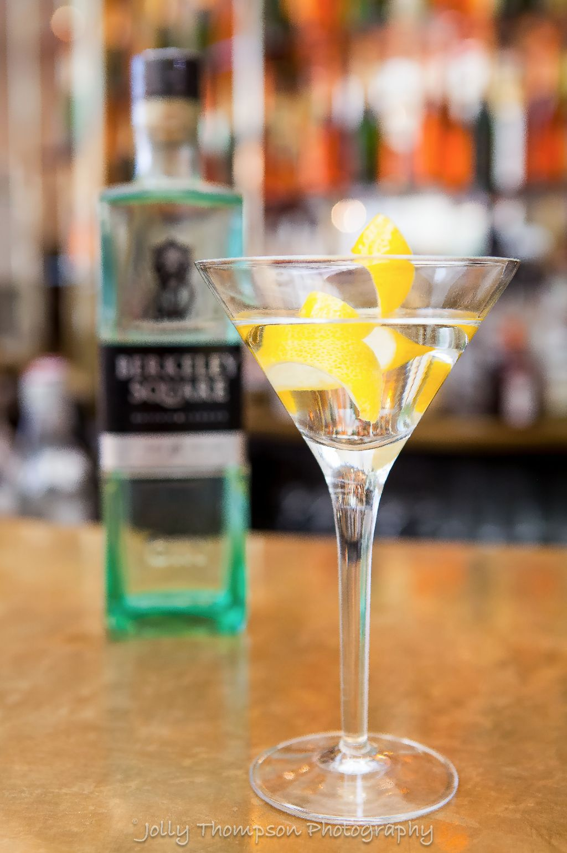Berkley Square gin martini