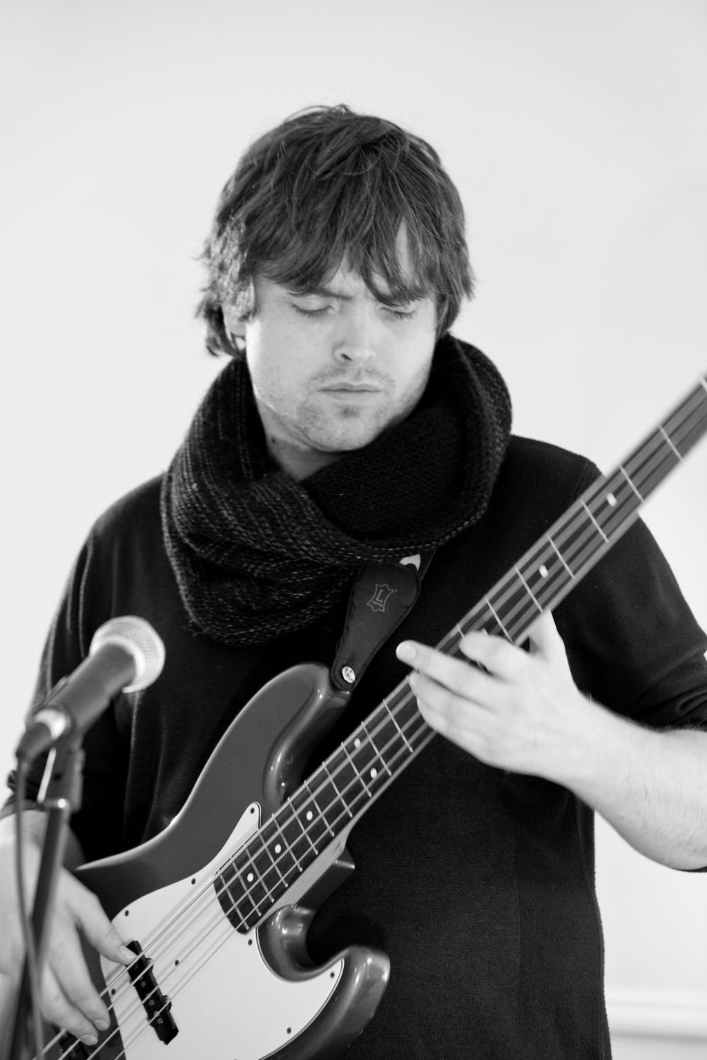 Andy, the bass guitar player