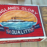 Large England's Glory Matchbox