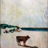 'Bullock On A Beach', by Harry Adams