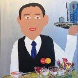 Waiter 60x75