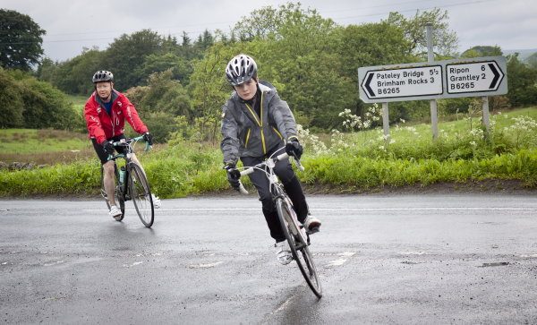 Weather improving as Sam heads towards Fountains Abbey