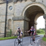 Husband and wife team at Castle Howard