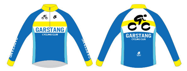 Long sleeved jersey front and back